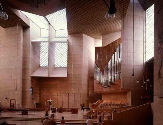 Arastone projects. Los Angeles cathedral