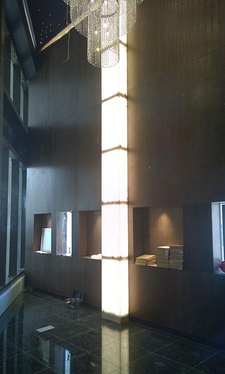 Lighting in luxury spaces