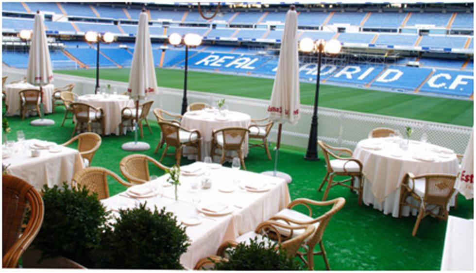 Alabaster in Puerta 57 Restaurant of Madrid