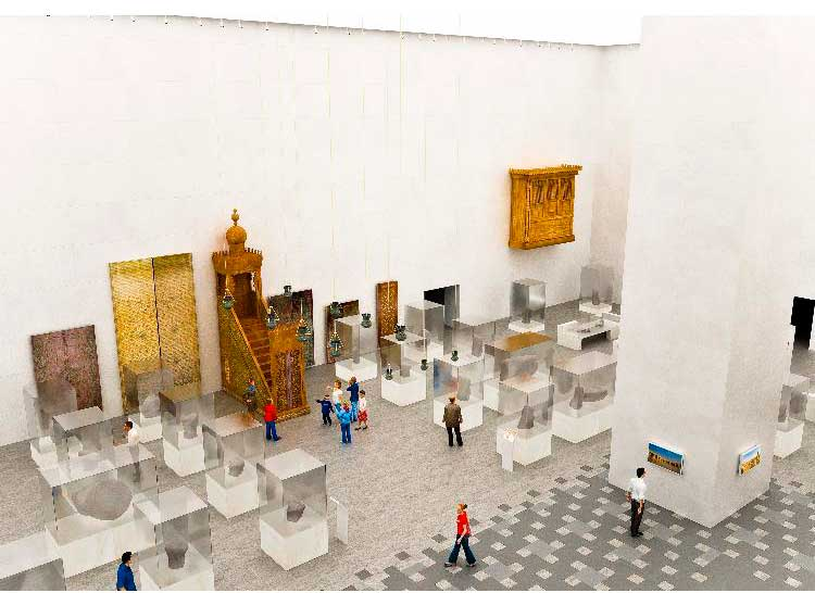 Alabaster-National-Museum -of-Egyptian-Civilization-view