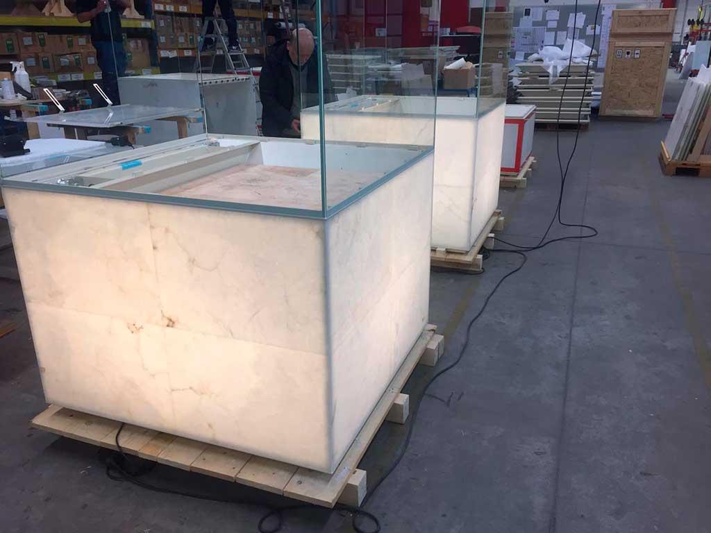 Alabaster in Nmec exhibitors